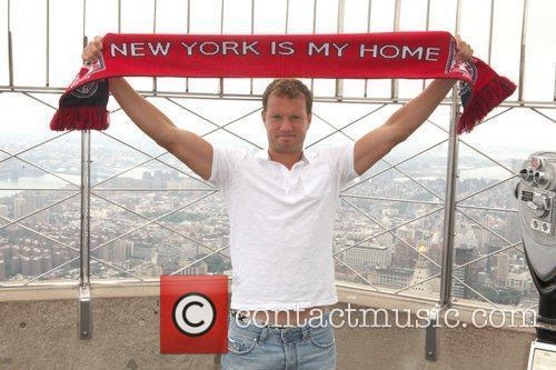 Teemu Tainio of The New York Red Bulls...