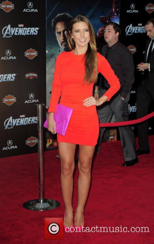 Audrina Patridge World Premiere of The Avengers at...