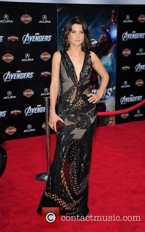Cobie Smulders World Premiere of The Avengers at...