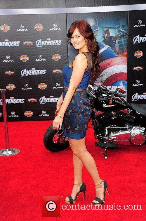 Debby Ryan World Premiere of The Avengers at...