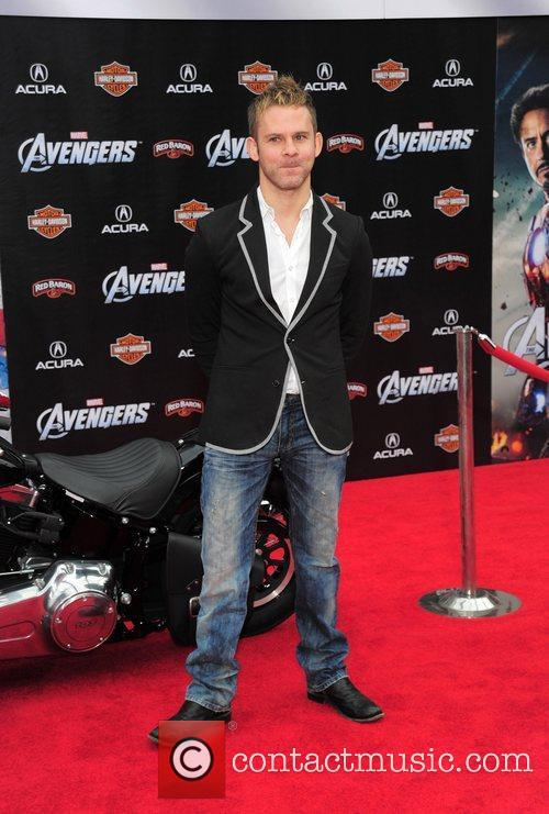 Dominic Monaghan World Premiere of The Avengers at...