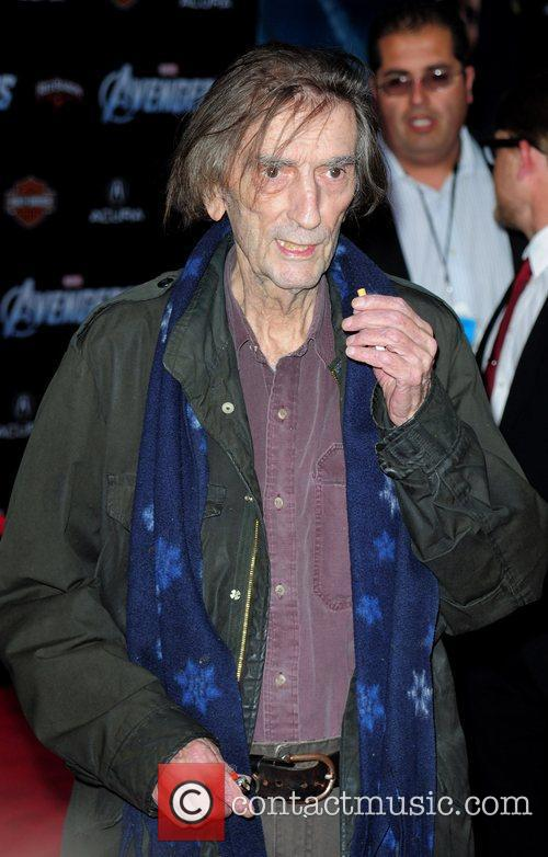 Harry Dean Stanton World Premiere of The Avengers...