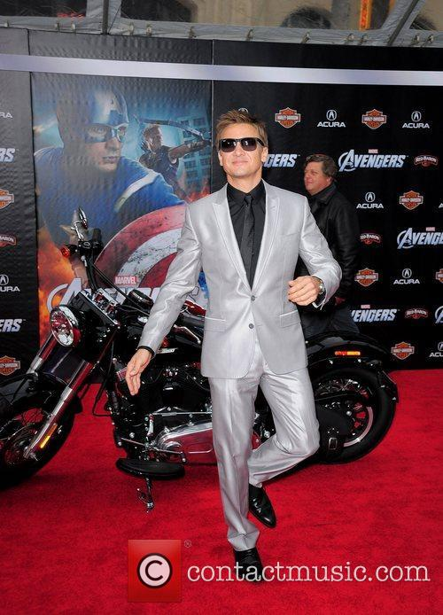 Jeremy Renner World Premiere of The Avengers at...