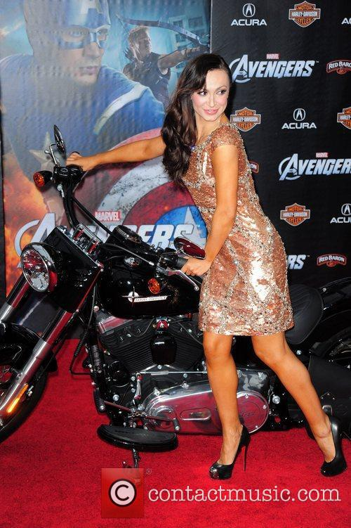Karina Smirnoff World Premiere of The Avengers at...