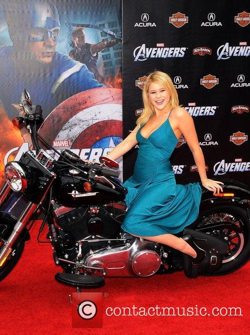 Renee Olstead World Premiere of The Avengers at...