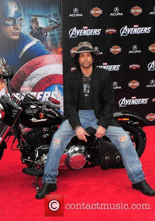 Richard Grieco World Premiere of The Avengers at...
