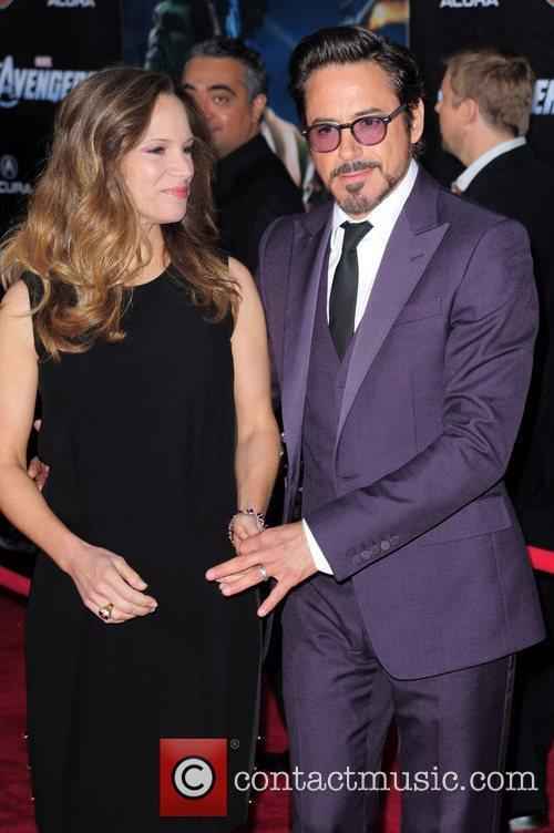Robert Downey Jr and Alexander Skarsgard 1