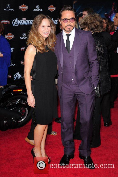 Robert Downey Jr and Jennifer Grey 3