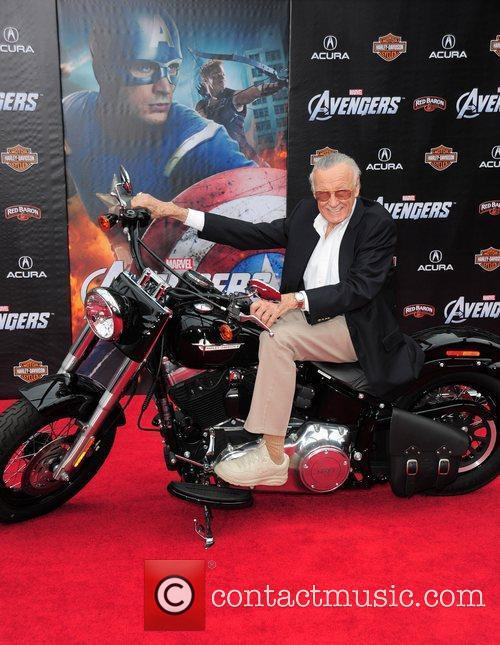 Stan Lee World Premiere of The Avengers at...