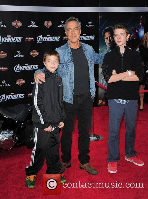 Titus Welliver and sons World Premiere of The...