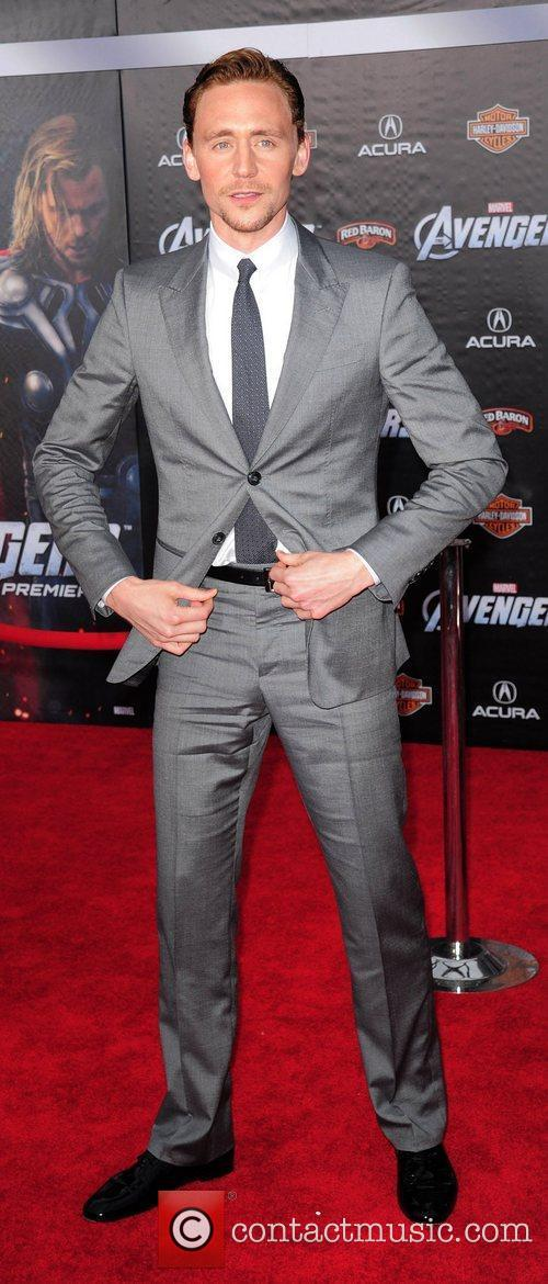 Tom Hiddleston World Premiere of The Avengers at...