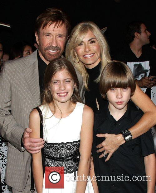 chuck norris with his wife gena and 4033997