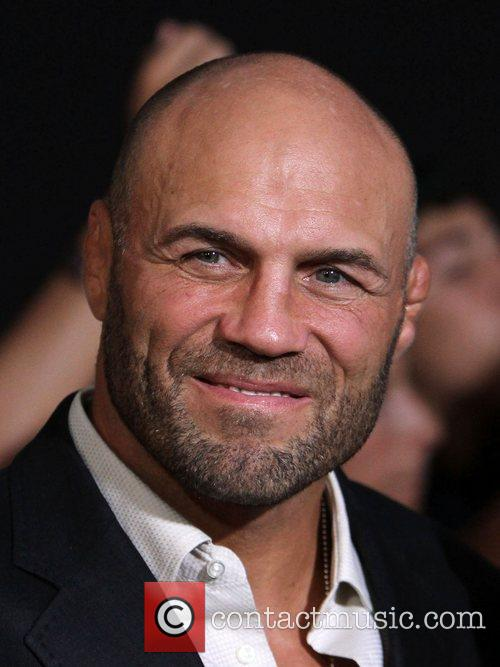 Randy Couture  at the Los Angeles Premiere...