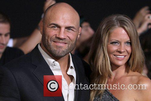 Randy Couture and Anne-marie Stanley 2
