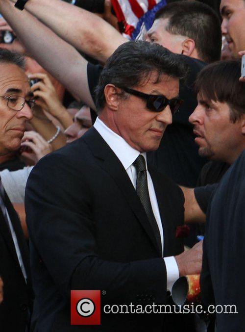 Sylvester Stallone  at the Los Angeles Premiere...