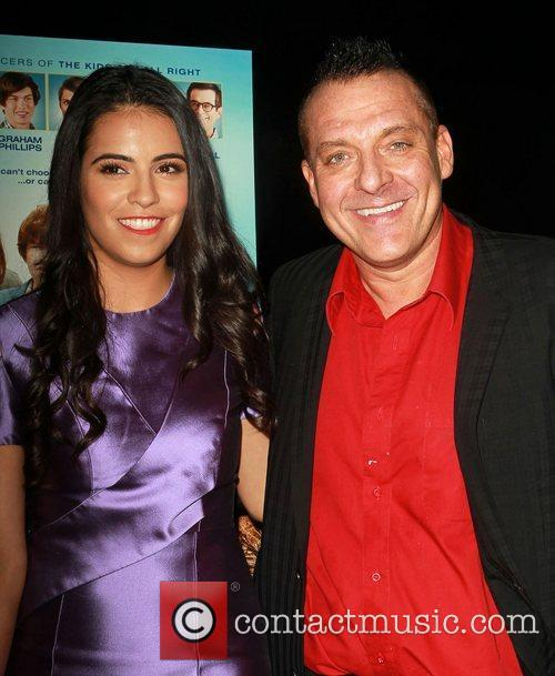 Olga Segura and Tom Sizemore 2