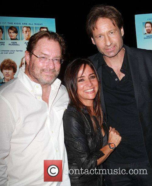 Pamela Adlon, David Duchovny and Stephen Root 2