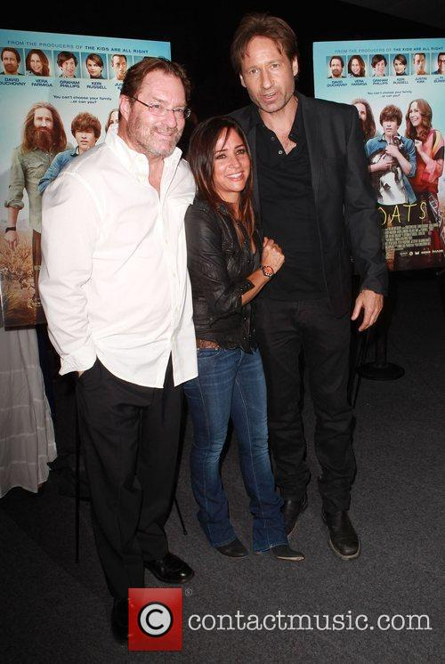 Pamela Adlon, David Duchovny and Stephen Root 3