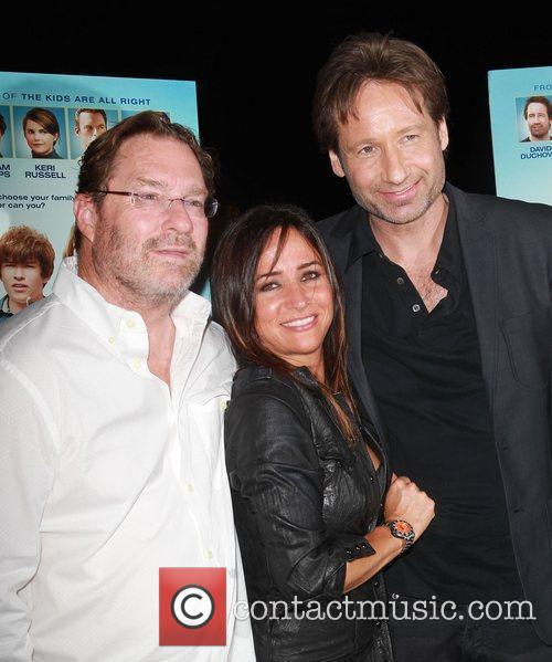 Pamela Adlon, David Duchovny and Stephen Root 1