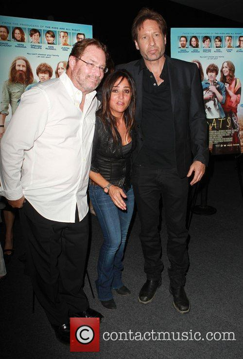 Pamela Adlon, David Duchovny and Stephen Root 4