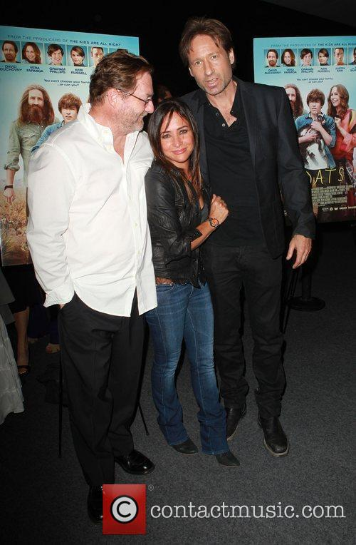 Pamela Adlon, David Duchovny and Stephen Root 5