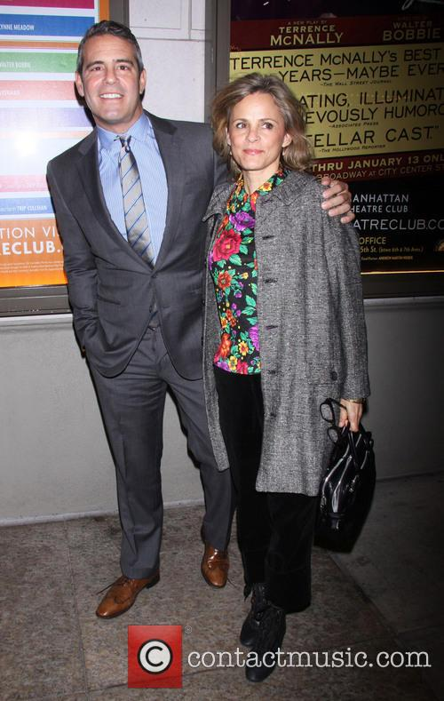 Andy Cohen and Amy Sedaris