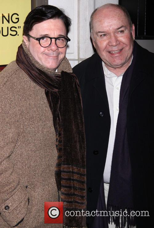 nathan lane and jack o146brien opening night 20052397
