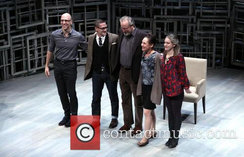 John Schiappa, Sharr White, Daniel Stern, Laurie Metcalf and Zoe Perry 5