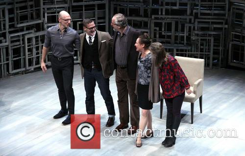 John Schiappa, Sharr White, Daniel Stern, Laurie Metcalf and Zoe Perry 11