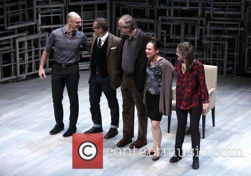 John Schiappa, Sharr White, Daniel Stern, Laurie Metcalf and Zoe Perry 6