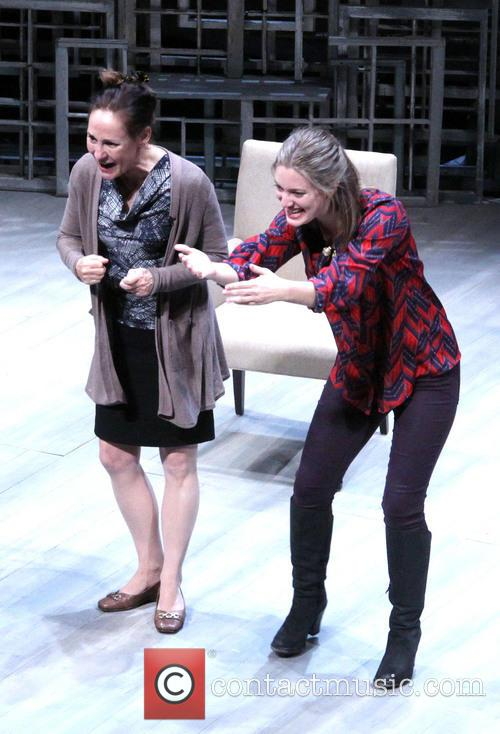Laurie Metcalf and Zoe Perry 1