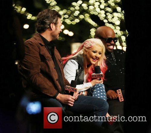 Blake Shelton, Christina Aguilera, Cee Lo Green