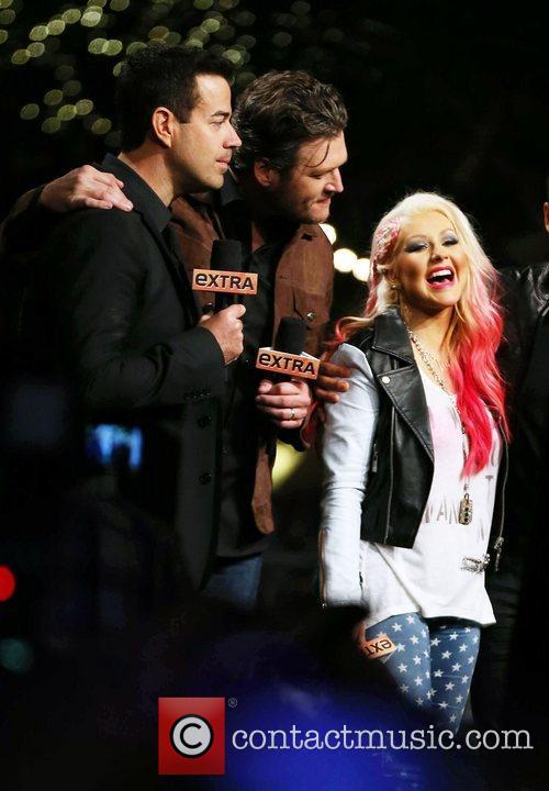 Blake Shelton and Christina Aguilera 5