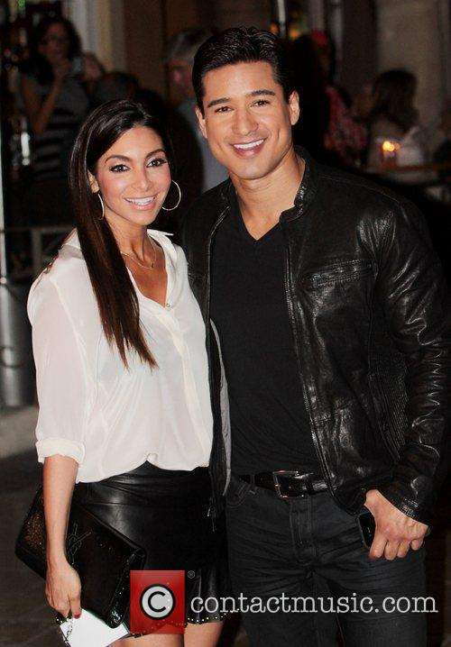 Courtney Mazza and Mario Lopez 4