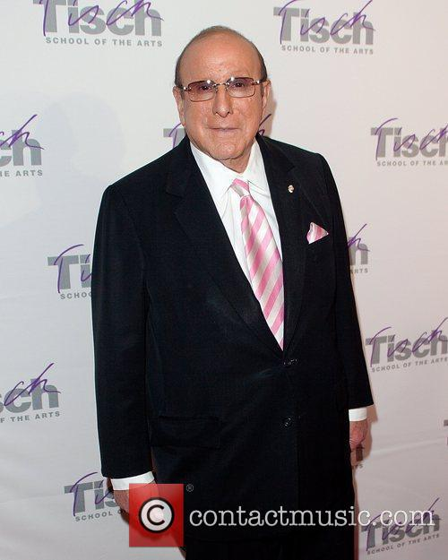 Clive Davis and New York Marriott Marquis 2