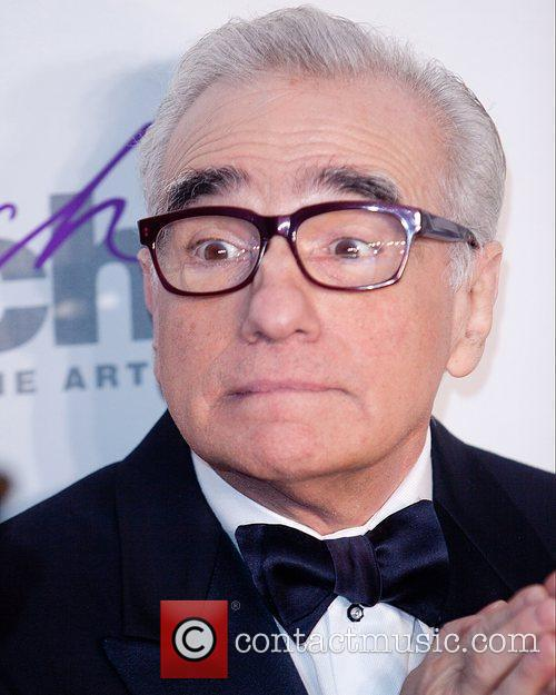 Martin Scorsese and New York Marriott Marquis 1