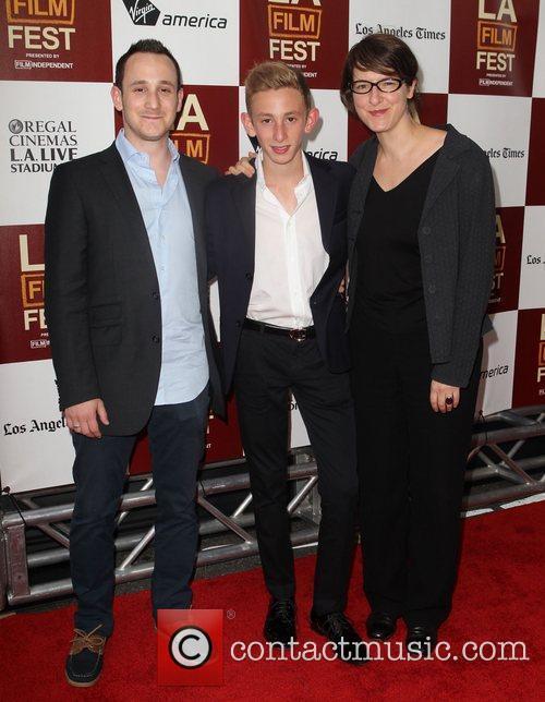 Loic, Kacey and Ursula Meier To Rome With...