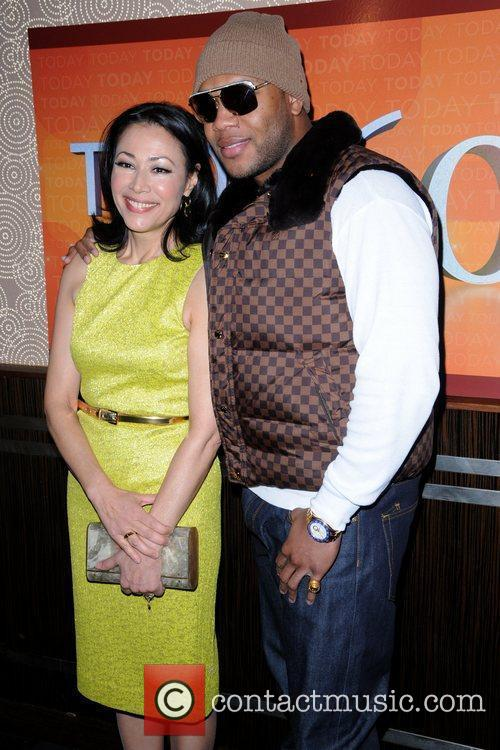 Ann Curry and Flo Rida 2