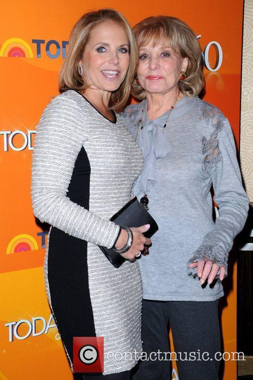 Katie Couric and Barbara Walters 4