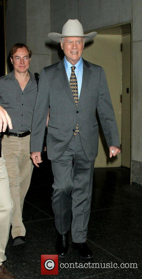 larry hagman leaving the today show after 3939949