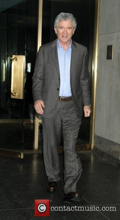 Patrick Duffy Leaving the Today Show after talking...