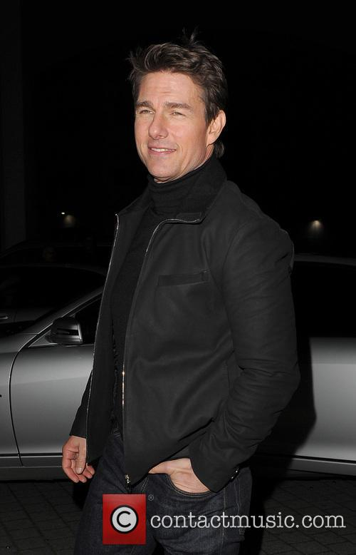 Tom Cruise, Battersea Heliport, He, World Premiere, Jack Reacher, Despite, One, England, Manchester, Merry Christmas and London 18