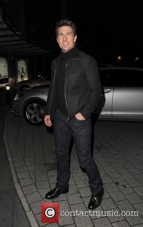 Tom Cruise, Battersea Heliport, He, World Premiere, Jack Reacher, Despite, One, England, Manchester, Merry Christmas and London 2