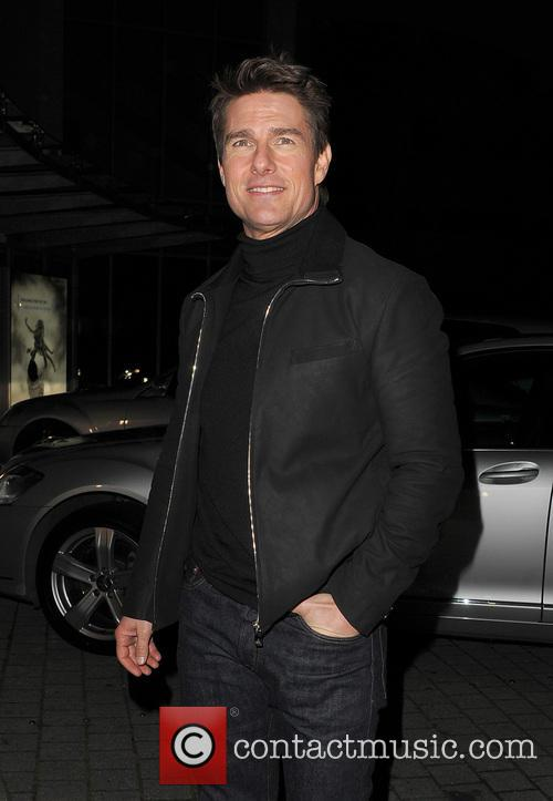 Tom Cruise, Battersea Heliport, He, World Premiere, Jack Reacher, Despite, One, England, Manchester, Merry Christmas and London 22