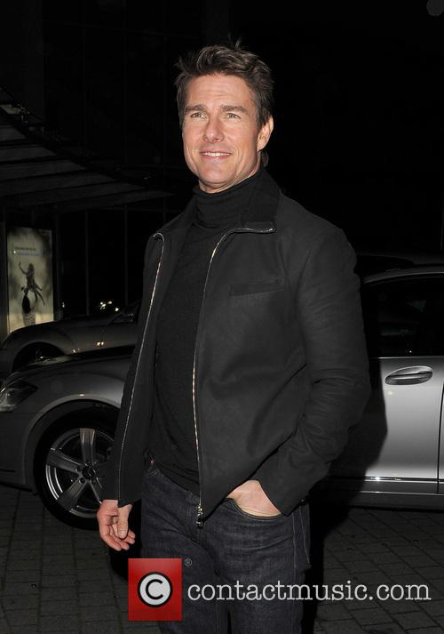 Tom Cruise, Battersea Heliport, He, World Premiere, Jack Reacher, Despite, One, England, Manchester, Merry Christmas and London 30