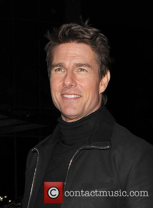 Tom Cruise, Battersea Heliport, He, World Premiere, Jack Reacher, Despite, One, England, Manchester, Merry Christmas, London