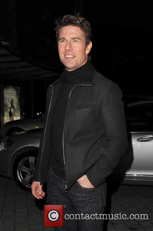 Tom Cruise, Battersea Heliport, He, World Premiere, Jack Reacher, Despite, One, England, Manchester, Merry Christmas and London 17