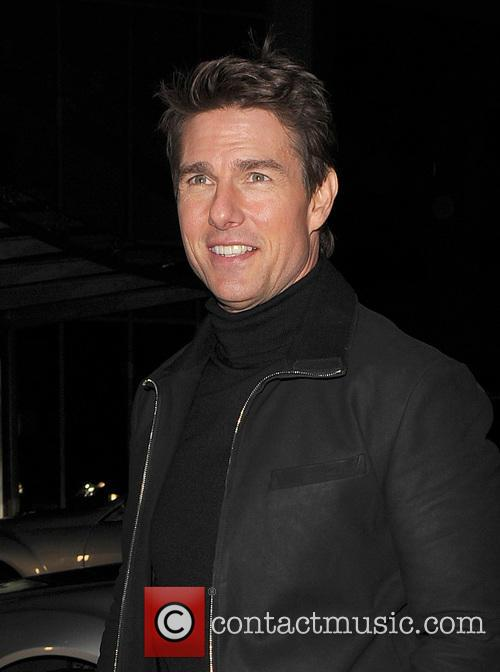 Tom Cruise, Battersea Heliport, He, World Premiere, Jack Reacher, Despite, One, England, Manchester, Merry Christmas and London 5