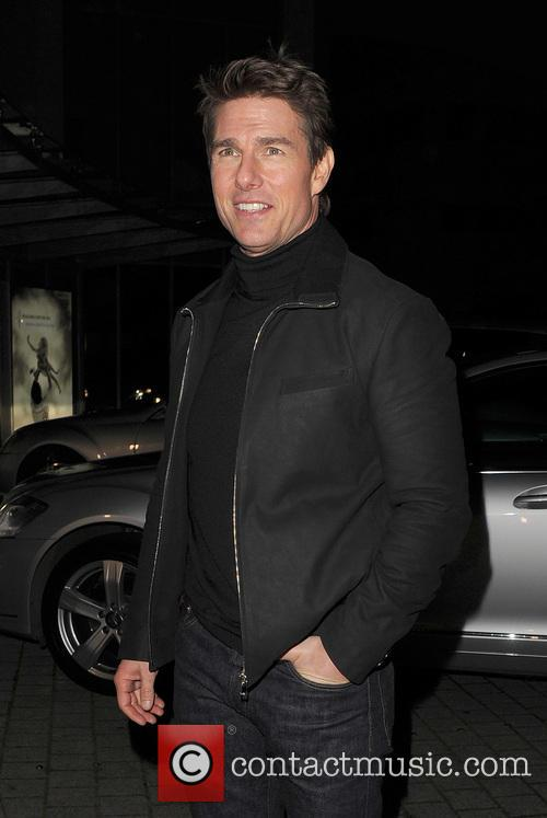 Tom Cruise, Battersea Heliport, He, World Premiere, Jack Reacher, Despite, One, England, Manchester, Merry Christmas and London 12