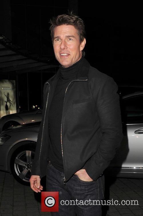 Tom Cruise, Battersea Heliport, He, World Premiere, Jack Reacher, Despite, One, England, Manchester, Merry Christmas and London 7